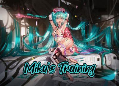 [Yingyi Xsu] Mikus Training (Vocaloid) [English] urination