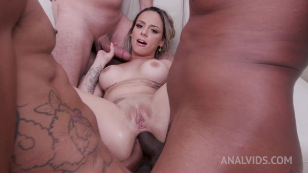 Barbara Alvez, Polly Petrova - Barbara Alvez anal fisted by Polly Petrova and assfucked by 3 cocks with DP and DAP YE127 (HD/2021) by LegalP0rno