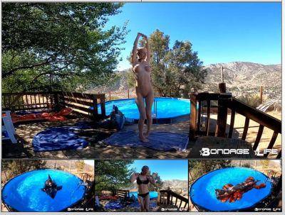 Bondage Life – By The Pool With Rachel Greyhound