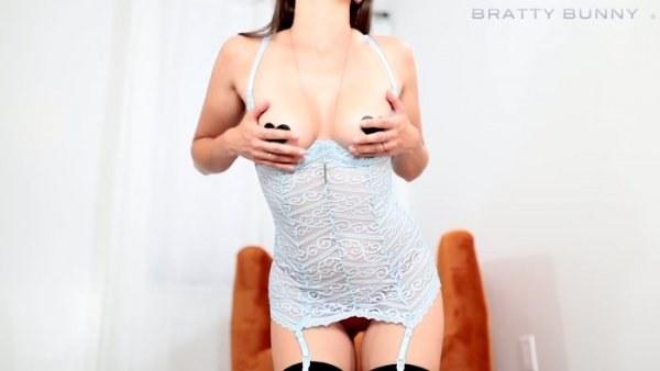 Bratty Bunny - Continuation Chastity Instruction 2 - FemDom POV