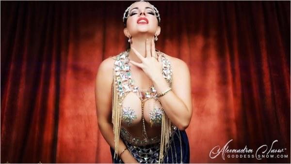 Goddess Alexandra Snow - The Devious Djinn - Goddess Worship