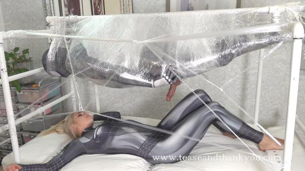 Eat This Web SpiderMan - Mandy Marx - TeaseAndThankYou