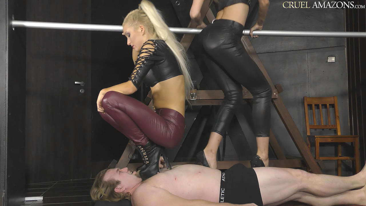 Makes It Worse For The Slave - Ariel - CruelAmazons