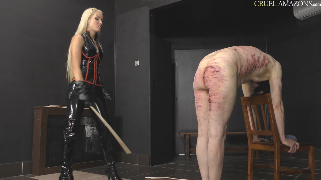 Extreme Caning Session - Ariel - CruelAmazons