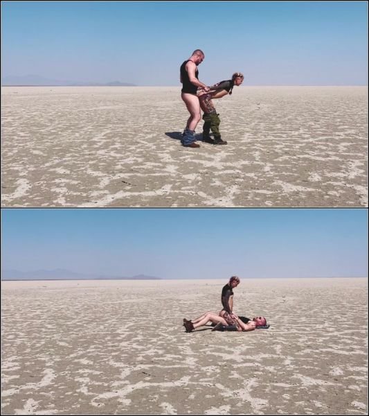 HannibalDamage - In the Salt Flats with Mike Panic [FullHD 1080p] (Trans)