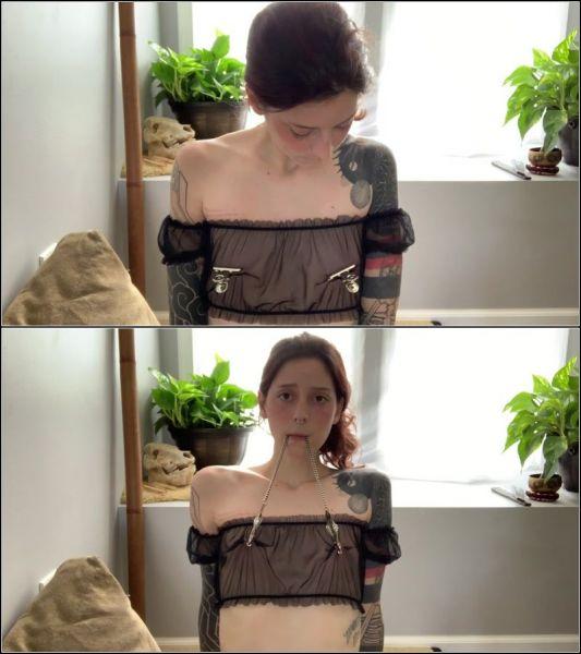 HannibalDamage - A bit of nipple time (Trans/FullHD/2021)