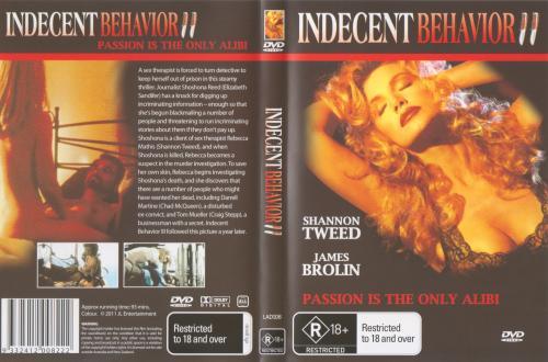 Indecent Behavior II - Shannon Tweed - Atlantic Group Films