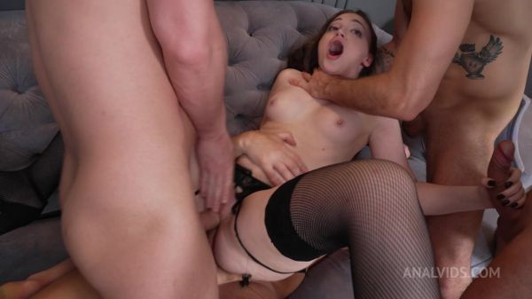 LegalP0rno: Kamilla Kavalli - Real Orgasm and First Double Vaginal Penetration Kamilla Kavalli With 4 Guys NRX137 (HD/720p)