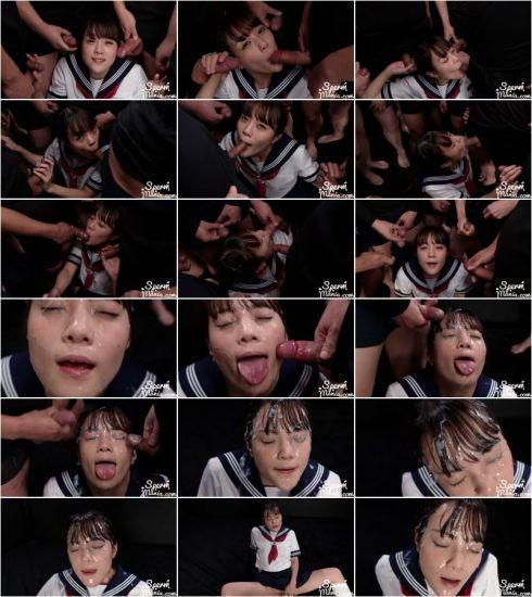 Aya Komatsu - Aya Komatsu's Sticky Bukkake Facial (13.08.2021) [FullHD 1080p] (Asian)