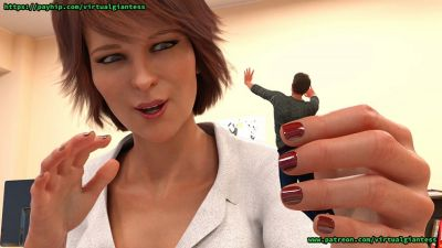 [Ilahyu] Payback at the Office [3D Porn Comic] giantess