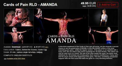 Elite Pain – Cards of Pain RLD – AMANDA