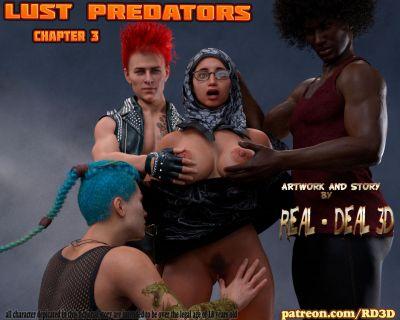 [RealDeal3D] Lust Predators Part 3 [3D Porn Comic] hijab