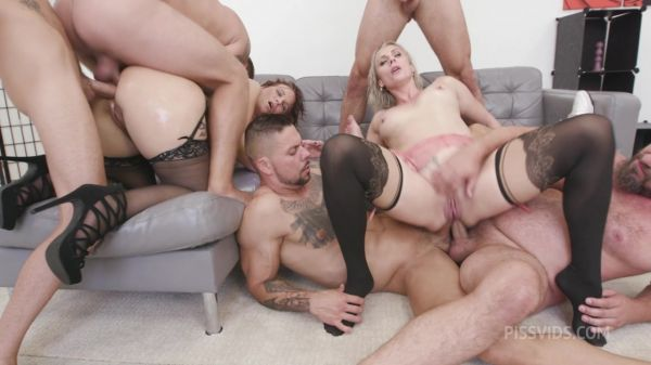 Brittany Bardot, Syren De Mer - Filthy, Brittany Bardot & Syren De Mer #2 Dry, Anal Fisting, DAP, Gapes, ButtRose, Squirt Drink, Cum in Mouth, Swallow GIO1923 (HD/2021) by LegalP0rno