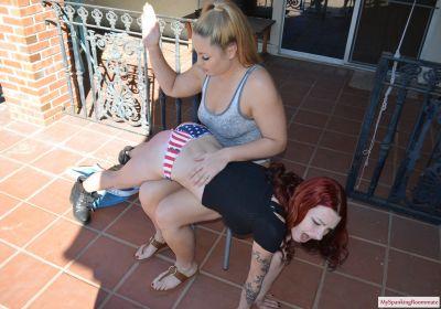 MySpankingRoommate – Episode 396: Kajira Spanked At The Pool