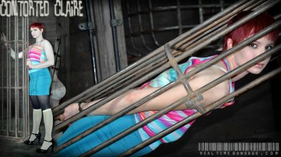 Real Time Bondage – Contorted Claire – Claire Adams