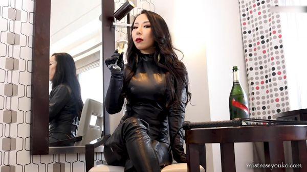 Black Leather Dominatrix - Mistress Youko - FetishMania