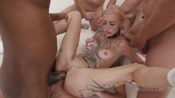 Sasha Beart - Sasha Beart is Unbreakable #2, 8on1, DAP, Rough Sex, Gapes, ButtRose, Squirt Drink, Cum in Mouth GIO1914 [HD 720p] (LegalP0rno)
