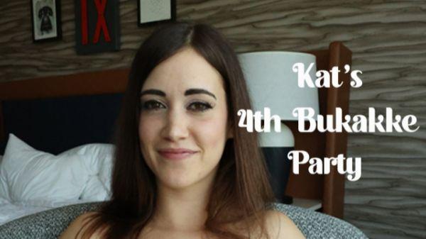 Kat TB  - Kat's 4th Gangbang & Bukkake (27.08.2021) [FullHD 1080p] (Bukkake)