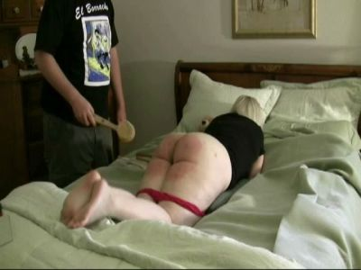 Real Discipline: Lily Gets An Intense Spanking From Robert
