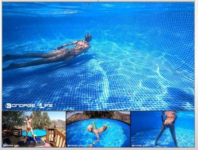 Bondage Life – In The Pool Rachel Greyhound