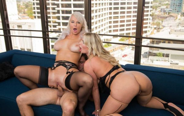 London River  Rachael Cavalli Have Hot Threesome In The Office With Their Co worker In Order To L...