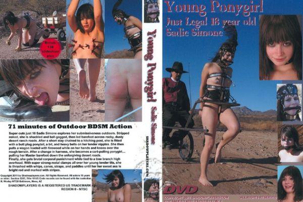 Young Ponygirl - Sadie Simone - ShadowPlayers