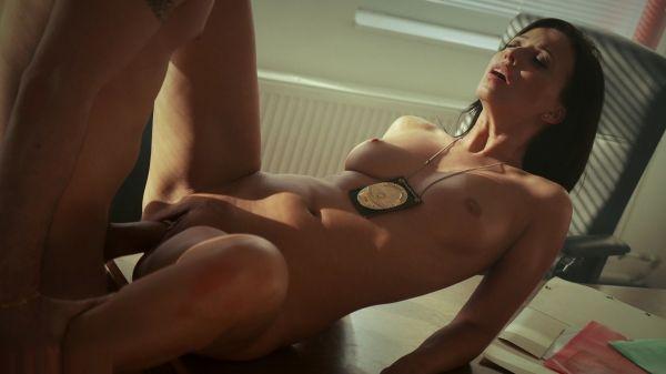 Vickie Brown aka Vicky Love - Hunky Suspect Pleasures Police Officer