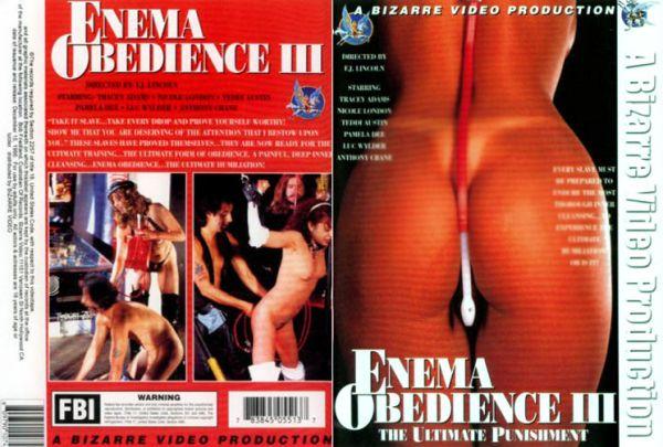 Enema Obedience #3 - Tracey Adams - Bizarre Video Productions