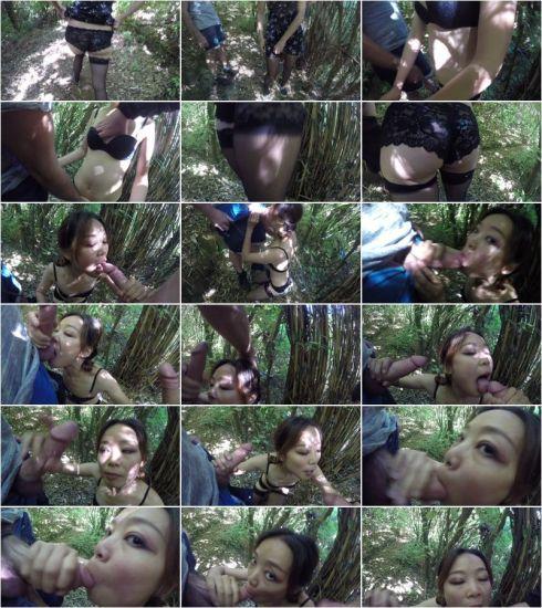 CumOnAnna - Wife Sucks Friend Cim [HD 720p] (Asian)