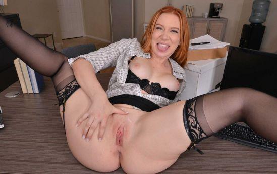 Your redhead babe employee Madison Morga Smartphone