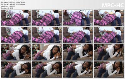 AssumethePositionStudios - Pajama Spanking Otk - Ivy Sherwood