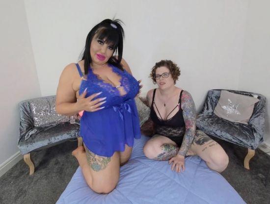 Big Toy Milfs - Lesbian BBW Huge Tits Gear vr