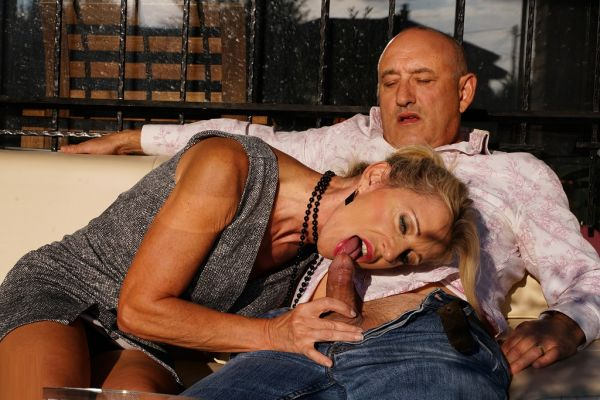 French Milf Marina Beaulieu made to squirt and enjoying her studs big cock