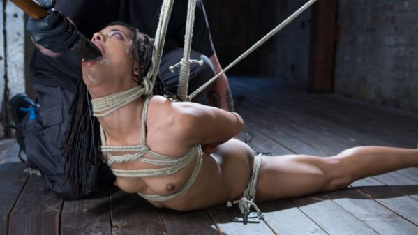 All Natural Newcomer In Brutal Bondage And Suffering Like A Pro