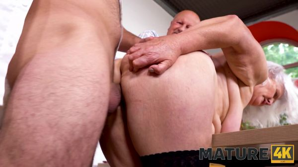 Judy - Mature - Hey, waiter! A coffee for me and a firm cock for my mature wife! (FullHD 1080p) [2021]