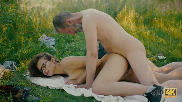 Alexis Fox - Teen - Sex picnic with her friend's dad  (FullHD 1080p) [2021]