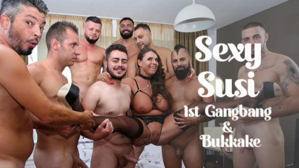 Sexy Susi - Sexy Susi's - 1st Gangbang & Bukkake (17.09.2021) [FullHD 1080p] (Bukkake)