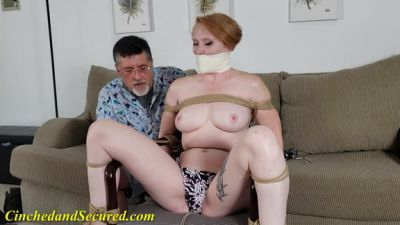 Cinched and Secured – Izzebella's Swimsuit Vibrations