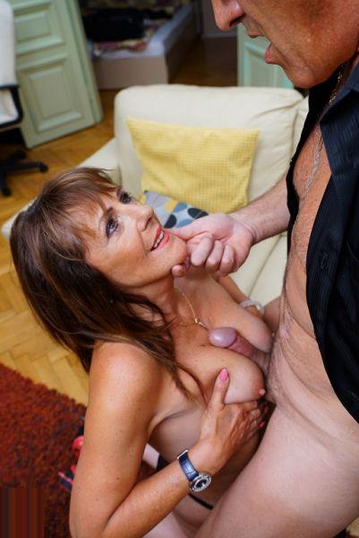 UK Milf Pandora enjoys a hard cock in her tight wet pussy