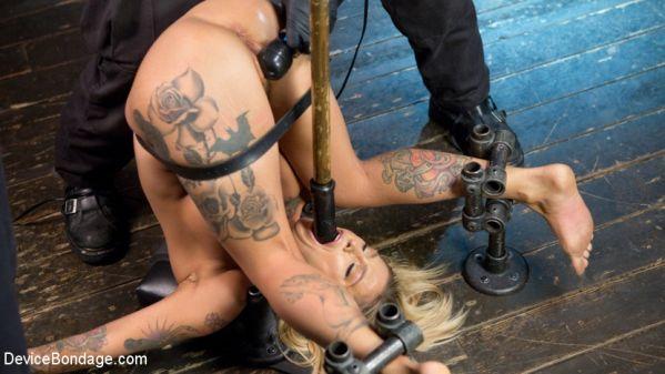 Super Sexy ALT Pain Slut Captured In Brutal Bondage And Tormented
