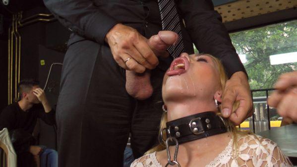 Busty Blonde Isabella Clark Public Double Penetration - Part 1