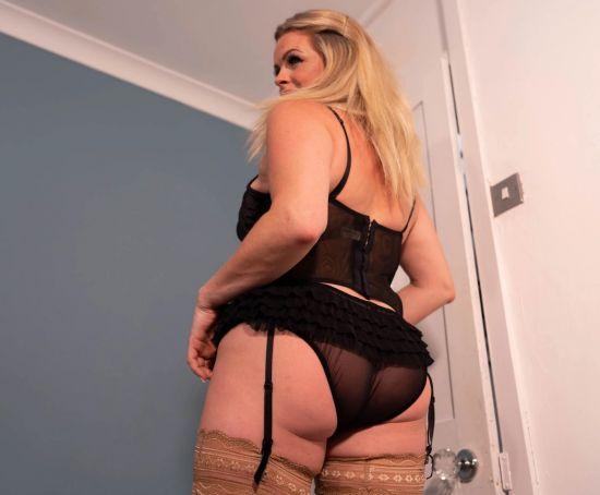 Secret Shag - Big Tit British Mature Blonde MILF Smartphone
