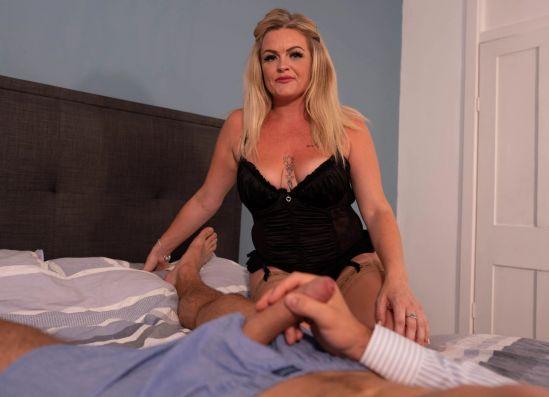 Secret Shag - Big Tit British Mature Blonde MILF Gear vr