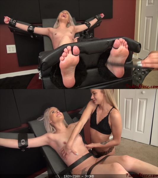 Tickling TickleAbuse – Naked Maia ToeTied 1