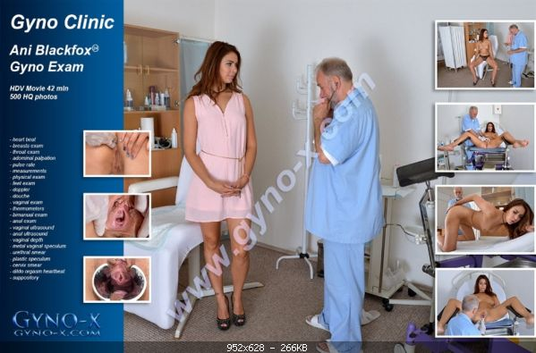 Medical Ani Blackfox (24 years girl gyno exam)