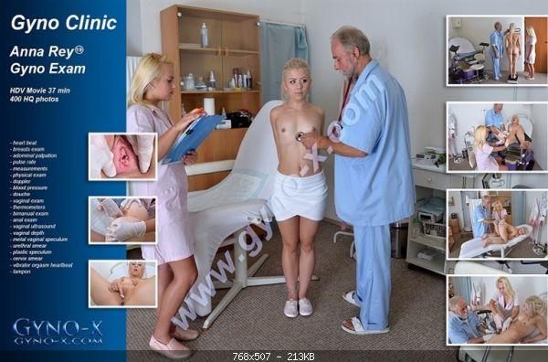 Medical Anna Rey Gyno Exam  Anna Rey, 19 years