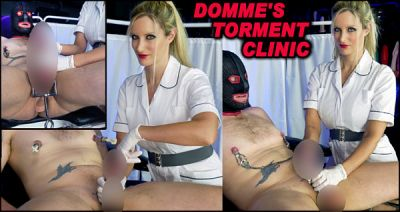 Domme's Torment Clinic Part 4