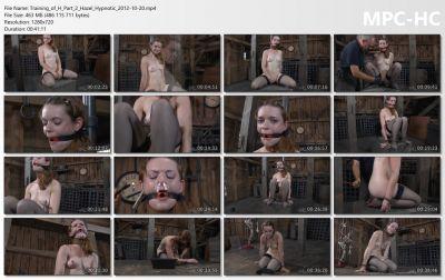 Real Time Bondage - Training of H Part 2 Hazel Hypnotic