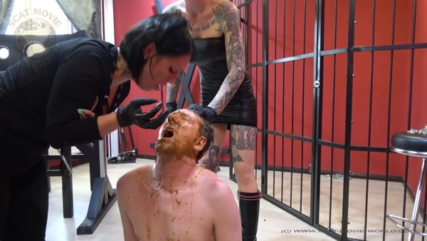 Dirty Scat And Vomit Session - Lady Elaysa - Scatqueens-Berlin