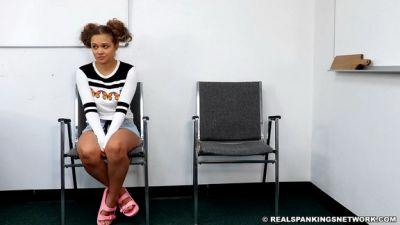 Real Spankings – Paddled In School: Kiki
